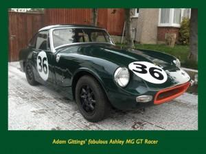 Adam Gittings' Ashley MG GT Racer